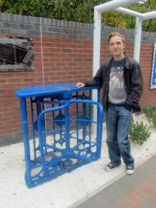 An old turnstile from Saltergate