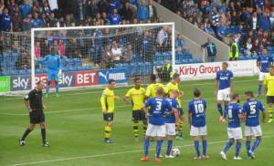A free kick for Chesterfield