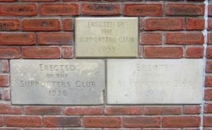 Old bricks from Saltergate