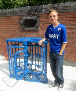 A turnstile from Saltergate