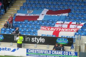 Scunthorpe flags