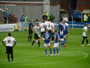 Penalty to Chesterfield