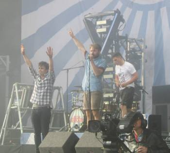 Supporting Enter Shikari provided the band with the biggest shows of their career