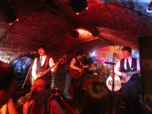 The Mersey Beatles rock the Cavern