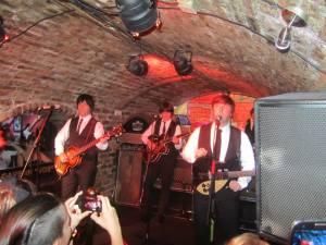 The Mersey  Beatles play all the classic Beatles hits