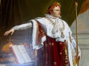 A painting of Napoleon Bonaparte (Napoleon I)