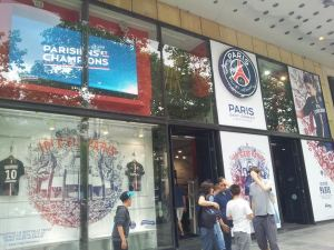 The PSG club shop