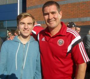 United boss Nigel Clough