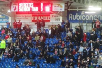 Happy Swindon fans