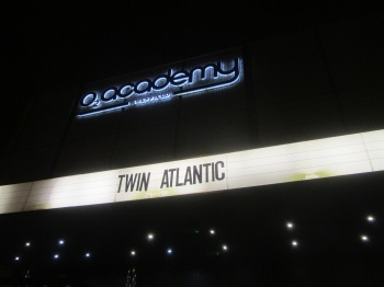 The fifth night of Twin Atlantic's headline tour