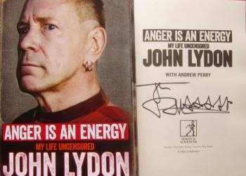 'Anger is an Energy'