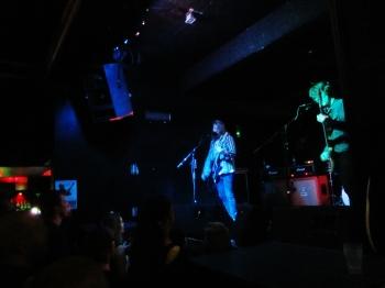 An intimate gig
