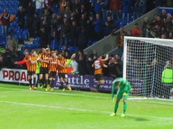 Bradford lead