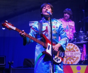 The Sgt Pepper outfits!