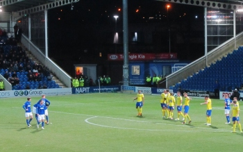 Chesterfield search for an early breakthrough