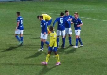 Eoin Doyle opens the scoring
