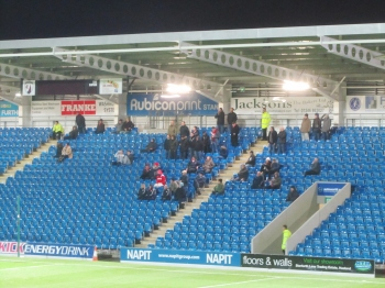 51 travelling supporters