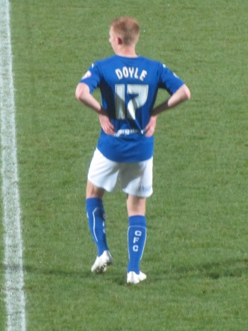 Eoin Doyle's 20th of the season