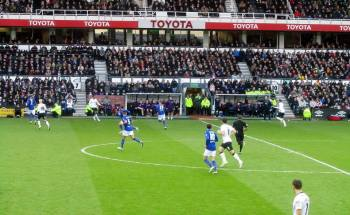 Derby attack on the break after going ahead
