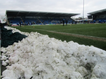 Snow at the Proact