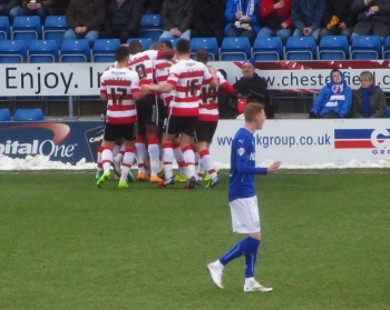 Doncaster open the scoring