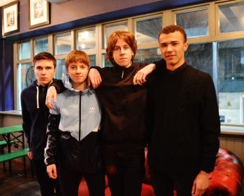 James, George, Tom and Elliott