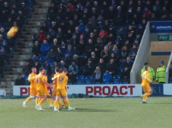Joe Garner puts Preston ahead