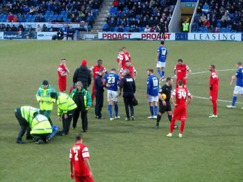An injury to Evatt extends the lengthy additional time
