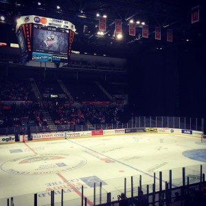 Sheffield Motorpoint Arena, the largest venue in the Elite League