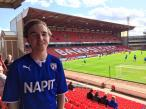 My second match at Oakwell