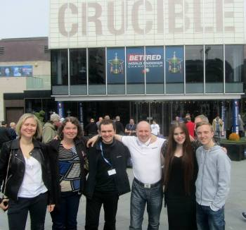 The regulars! Maruta, Kellie, Matt, my Dad Mark, Michelle and me