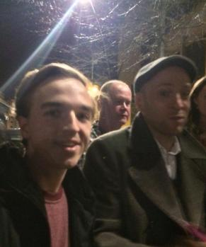 Me and Derren after the show