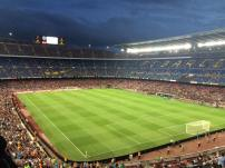 My first view of the Camp Nou