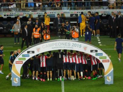 Bilbao's first trophy since 1984