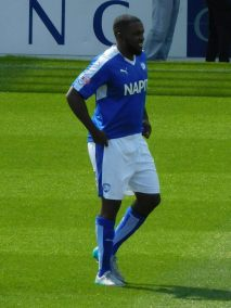 Sylvan Ebanks-Blake on his competitive Chesterfield debut