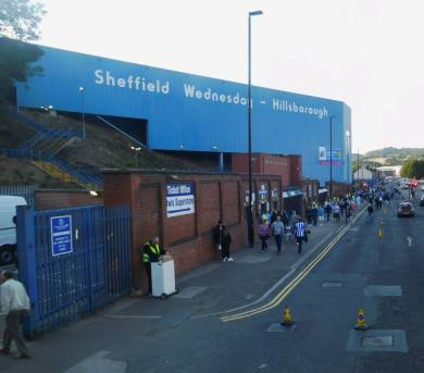 Hillsborough, home of Sheffield Wednesday