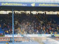 The travelling Stags supporters
