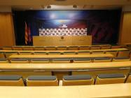 The press room