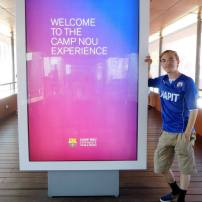 Ready for the world-famous Camp Nou Experience