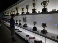 The ridiculously impressive trophy cabinet