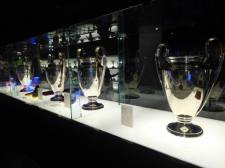 Four of the five Champions League trophy's Barca have lifted