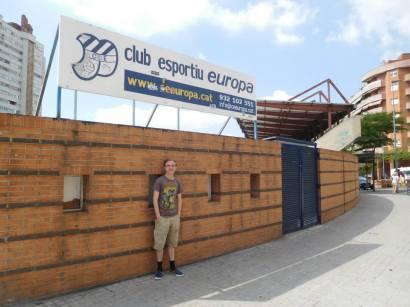 Outside Nou Sardenya