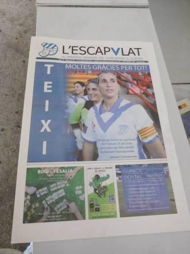 Tthe club newspaper