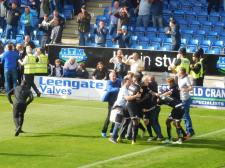 Wigan score the winner in the 90th minute