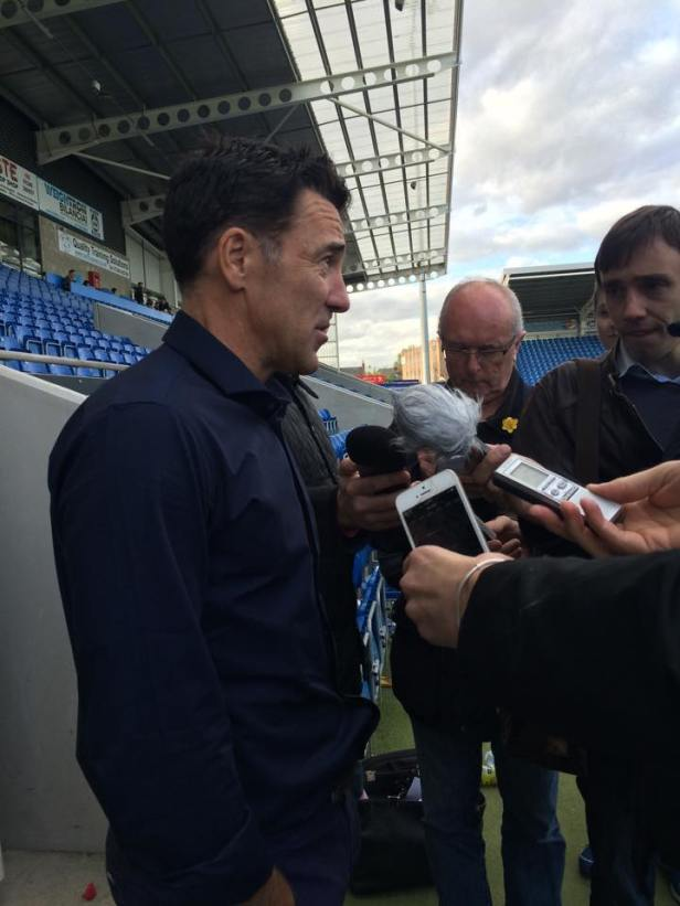 #13 (Media) Post-match with Dean Saunders