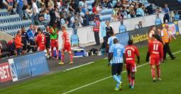 Goalless at the break
