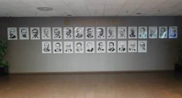 The presidents of RCD Espanyol