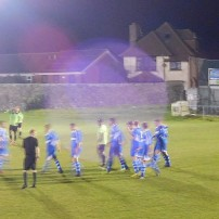 A dramatic 83rd minute equaliser for Hallam