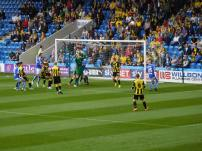 Sam Hird heads Chesterfield ahead!