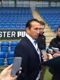 Justin Ediburgh hopes the victory can kickstart his sides away form